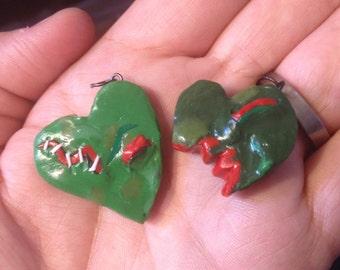 Zombie Heart Charm