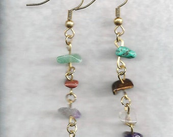 Chip Earrings