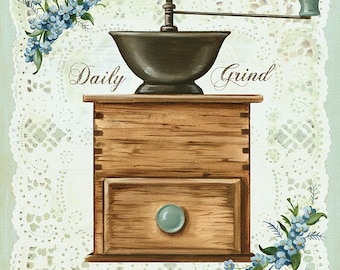 Daily Grind Coffee Lovers Print