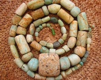 Anicent Amazonite Beads