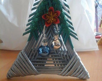 Christmas basket decoration