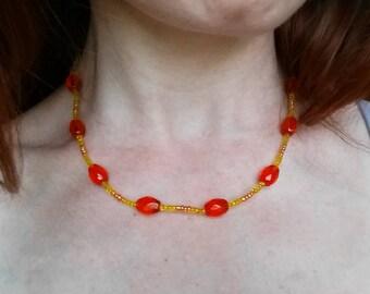Tangerine Dream Necklace