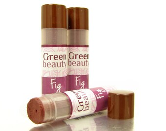 Lip Tint, Fig, tinted lip balm, natural lip balm, sheer lip tint, mineral makeup, natural makeup, sheer lip color, moisturizing balm, YLBB