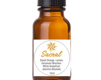 InLaKesh Aromatics Sacral Chakra Essential Oil Blend