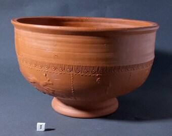 Replica Roman Samian Ware Terra Sigillata Bowl - Slight Second