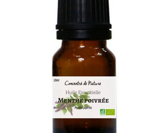 Peppermint organic Peppermint essential oil
