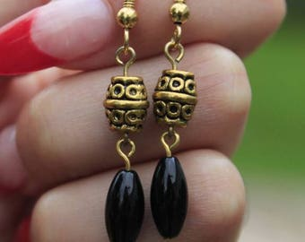 Golden Hour Dangle Earrings
