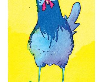 State Birds - Blue Hen Chicken