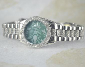 STARBUCKS Upcycled Watch Band Timeless - Starbucks Blingy Band Bracelet