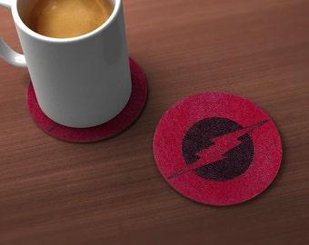 Flash Lightning Geek Drink Coaster