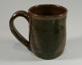 Large Ceramic Mug, Ceramic Coffee Mug, Wheel Thrown Mug, Stoneware Mug, Pottery Mug, Large Coffee Mug, Large Coffee Cup, Ready to Ship, M3