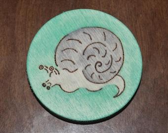 Garden Snail Magnet