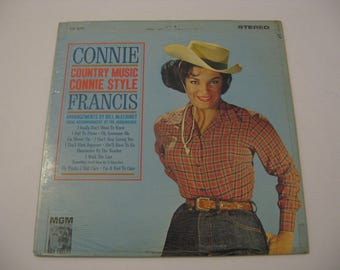 Connie Francis  -  Country Music Connie Style  -  Circa 1964