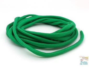 2 m thread paracord (fil141) Green parachute cord