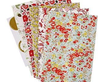 Treat Bags | Wedding Favour Bags | Liberty Collection | Floral Treat Bags | Liberty Tableware | Floral Candy Bags | Favour Bags | 10 Per Set