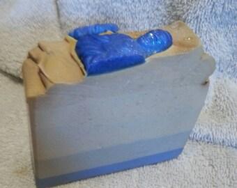 SERENITY handmade Creamy Soap 6 oz buttery moisturizing