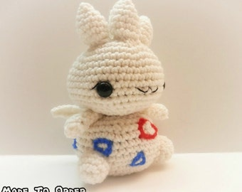 Crochet Togetic Inspired Chibi Pokemon