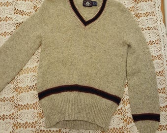 Pull en laine pour hommes / grey pull pull/pull taille M/hiver /