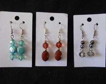 Fashion earrings, jewellery