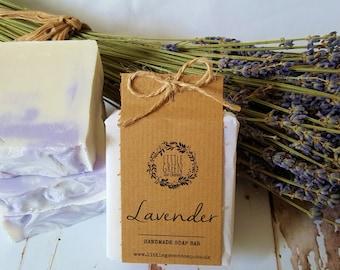 Handmade Lavender Soap, Natural Skincare, Scented Soap, Gift for Grandma, Mum, Friend