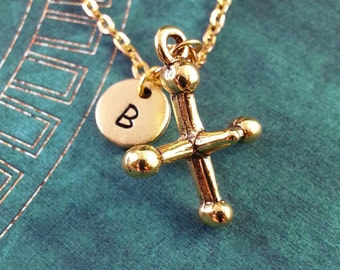 Playing Jack Necklace Personalized Necklace Jacks Necklace Custom Necklace Game Jewelry Monogram Necklace Gold Charm Necklace Gold Keychain