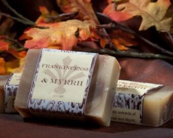 Soap Bars - Frankincense & Myrrh