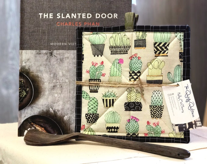 Cactus Quilted Pot Holders