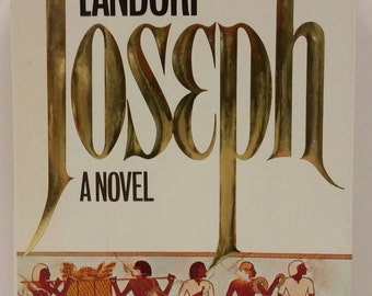 Vintage Novel Joseph by Joyce Landorph, 1979, Christian Fiction