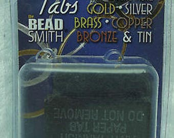 "BEADSMITH Shine Right Anti Tarnish Tabs Strips 50 1x1"" 3M Tarni-shield USA Right"