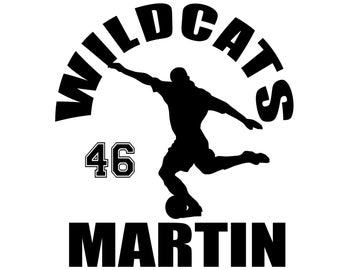 Personalized Soccer Decal - Custom Sticker for Players and Soccer Mom