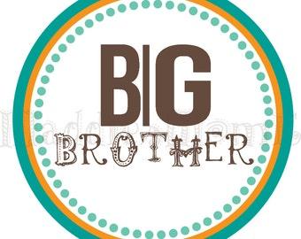 Big Brother Iron on Transfer
