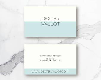 Premade business card template / Business card / Business card template / Calling card / Branding card template / Printable card / Custom