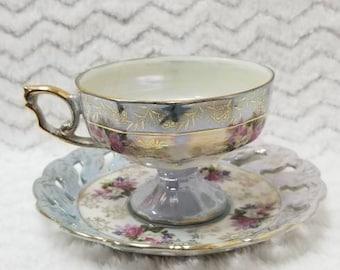 Vintage Japanese Tea Cup set *1950s