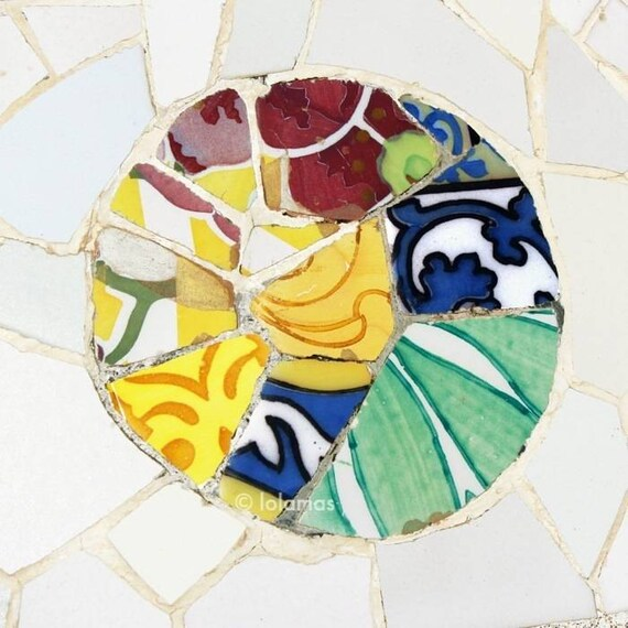 Wall art wall decor Fine Art prints Spanish tiles Colorful