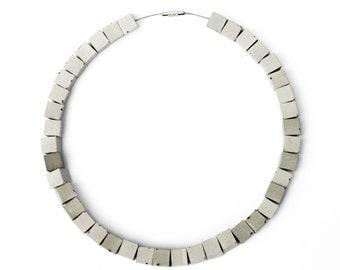 concrete necklace GEOMETRIC