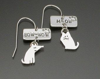 Bow Wow Meow earrings