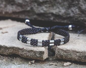 Mens bracelet / Surfer bracelet waterproof / Vegan leather jewelry / Homme Femme friendship bracelet / Birthday gift / Custom bracelet color