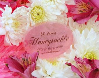 Honeysuckle Soap from the Flower Garden