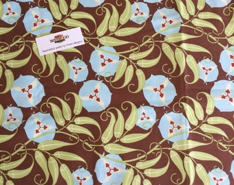Amy Butler Fabric, OOAK, Nigella Collection, Home Dec Fabric, Passion Vine, Star Flower Tiles