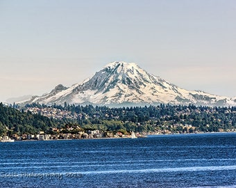 Landscape Photography | Mount Rainier | Seattle Art | Mountain Landscape | Pacific Northwest Wall Art | Home & Office Decor | Fine Art