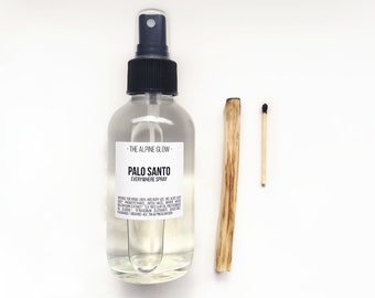 PALO SANTO SPRAY - Smudge Spray - Room Spray - Energy Clearing - Ritual - Essential Oil - Smudging - Aromatherapy - Holy Wood - Spiritual