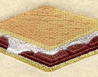 MINI Smores Embroidered Flour Sack Hand/Dish Towel