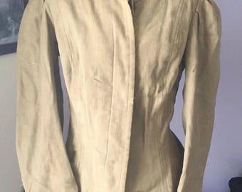 1890s Ladies Mutton Sleeve Jacket