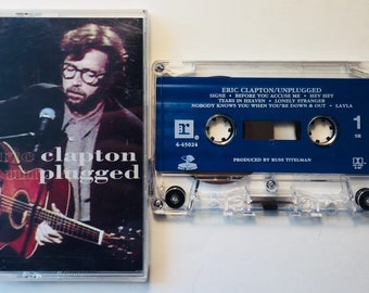Eric Clapton : Unplugged (Cassette Tape)