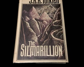 The Written Word: The Silmarillion by J.R.R Tolkien (First/First)
