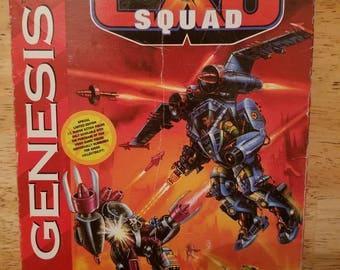 EXO Squad - Sega Genesis (Complete & Authentic)