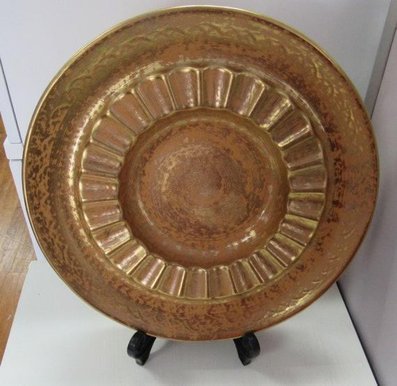 Big Stangl Ashtray Granada Gold