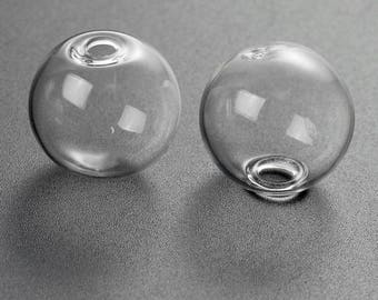 5 globes bubble glass 20mm