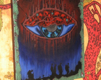 Eye of war, Canvas