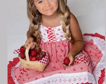 Strawberry sweetheart dress